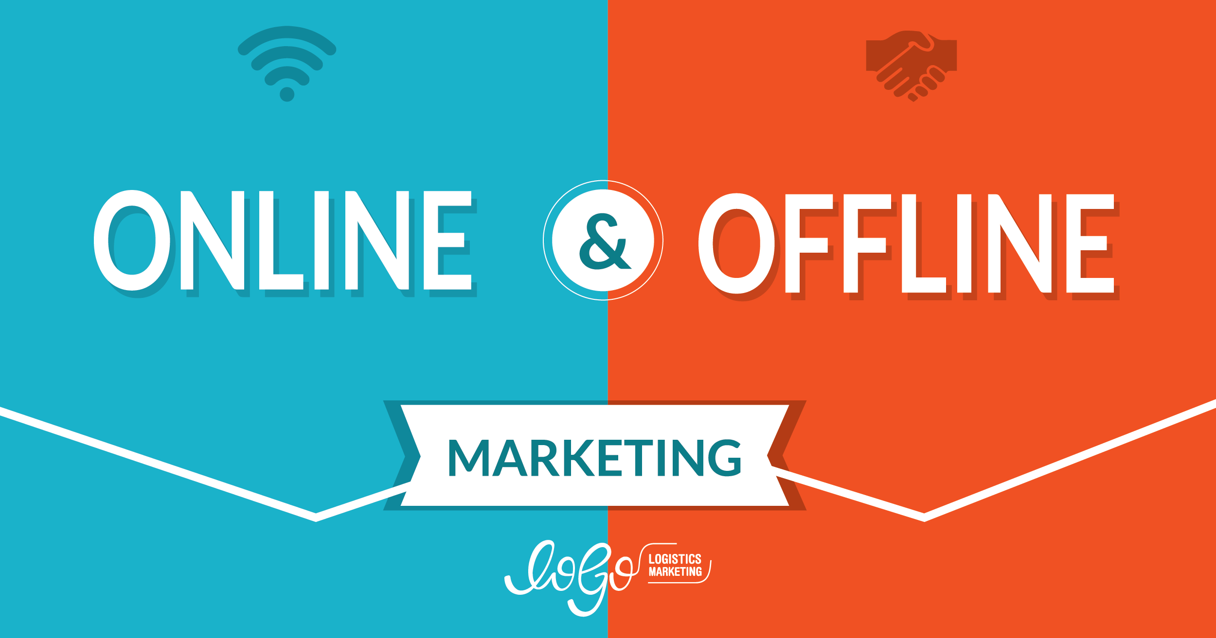 How offline and online marketing approaches work together to support brands