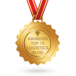 Top logistics blogs - badge