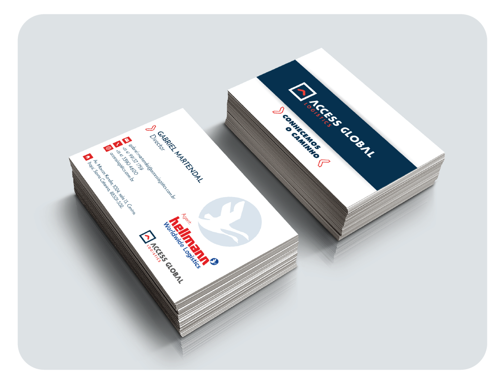 Access Stationery_visit card